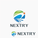agnesさんの【工場汚水の浄化をする為の工業系薬品の製造・販売会社】『㈱NEXTRY(ネクストリー)』のロゴへの提案