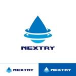 GARAさんの【工場汚水の浄化をする為の工業系薬品の製造・販売会社】『㈱NEXTRY(ネクストリー)』のロゴへの提案