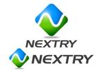 j-designさんの【工場汚水の浄化をする為の工業系薬品の製造・販売会社】『㈱NEXTRY(ネクストリー)』のロゴへの提案