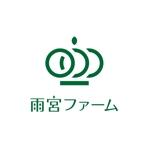 tera0107さんの果物ショップ「雨宮ファーム」のロゴ制作への提案