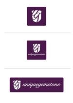 take_aktさんの世界中の天然石を扱うショップのロゴ制作依頼への提案