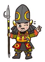 戦国武将・加藤清正のキャラクターデザインへの提案