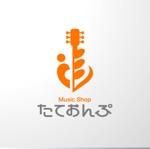 sa_akutsuさんの楽天Shop Music Shop たておんぷ のロゴマークへの提案