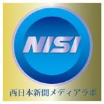 isimoti116banさんのWEB・映像制作会社「西日本新聞メディアラボ」の社名ロゴ制作への提案