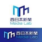 momoz3588さんのWEB・映像制作会社「西日本新聞メディアラボ」の社名ロゴ制作への提案
