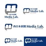 sigeさんのWEB・映像制作会社「西日本新聞メディアラボ」の社名ロゴ制作への提案