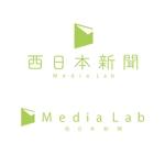 TK_DesignersさんのWEB・映像制作会社「西日本新聞メディアラボ」の社名ロゴ制作への提案