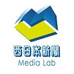maeda_worksさんのWEB・映像制作会社「西日本新聞メディアラボ」の社名ロゴ制作への提案