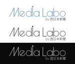 kyoya_bさんのWEB・映像制作会社「西日本新聞メディアラボ」の社名ロゴ制作への提案