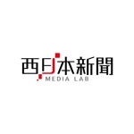 Wells4a5さんのWEB・映像制作会社「西日本新聞メディアラボ」の社名ロゴ制作への提案