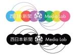 k56_manさんのWEB・映像制作会社「西日本新聞メディアラボ」の社名ロゴ制作への提案