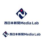 OchanさんのWEB・映像制作会社「西日本新聞メディアラボ」の社名ロゴ制作への提案