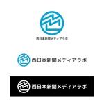 YolozuさんのWEB・映像制作会社「西日本新聞メディアラボ」の社名ロゴ制作への提案
