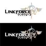 広告代理店「リンクフォース」の会社ロゴ作成への提案