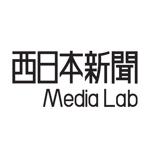 0024graphicsさんのWEB・映像制作会社「西日本新聞メディアラボ」の社名ロゴ制作への提案