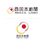 designstyle904さんのWEB・映像制作会社「西日本新聞メディアラボ」の社名ロゴ制作への提案