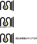 groundheadさんのWEB・映像制作会社「西日本新聞メディアラボ」の社名ロゴ制作への提案