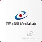 boxboxboxさんのWEB・映像制作会社「西日本新聞メディアラボ」の社名ロゴ制作への提案