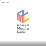 shoji_aunさんのWEB・映像制作会社「西日本新聞メディアラボ」の社名ロゴ制作への提案