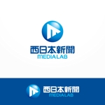 veritascreativeさんのWEB・映像制作会社「西日本新聞メディアラボ」の社名ロゴ制作への提案