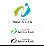 ispd51さんのWEB・映像制作会社「西日本新聞メディアラボ」の社名ロゴ制作への提案