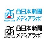 kamono84さんのWEB・映像制作会社「西日本新聞メディアラボ」の社名ロゴ制作への提案