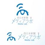 masa_2goさんのWEB・映像制作会社「西日本新聞メディアラボ」の社名ロゴ制作への提案
