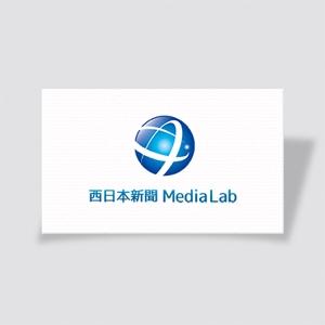 mae_chanさんのWEB・映像制作会社「西日本新聞メディアラボ」の社名ロゴ制作への提案