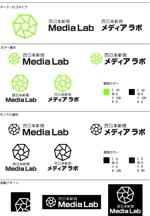 WEB・映像制作会社「西日本新聞メディアラボ」の社名ロゴ制作への提案