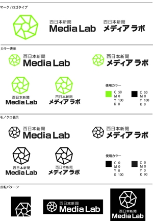 kevin-syさんのWEB・映像制作会社「西日本新聞メディアラボ」の社名ロゴ制作への提案