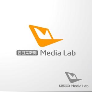sa_akutsuさんのWEB・映像制作会社「西日本新聞メディアラボ」の社名ロゴ制作への提案