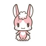 Haradamaさんのうさぎ又はひつじのキャラクターデザインへの提案