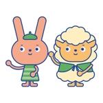 sibukawaさんのうさぎ又はひつじのキャラクターデザインへの提案