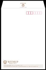 kuma-booさんの女性社長コンサルティング会社のシンプルで誠実感のある角2、窓無し洋0封筒デザイン(ロゴあり)への提案