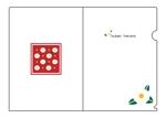 kotyou_7さんの椿の花を使ったクリアファイルのデザイン依頼への提案