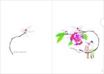 koboshokaさんの椿の花を使ったクリアファイルのデザイン依頼への提案