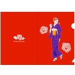 saiga005さんの椿の花を使ったクリアファイルのデザイン依頼への提案