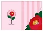 tomo_acuさんの椿の花を使ったクリアファイルのデザイン依頼への提案