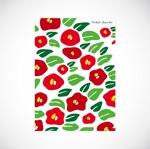 saituさんの椿の花を使ったクリアファイルのデザイン依頼への提案