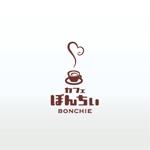 HiroMatsuokaさんのカフェインレスコーヒーショップ「カフェぼんちぃ」のロゴへの提案