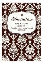 holytomatoさんの挙式の招待状のデザインへの提案