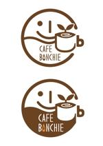 tnjsuerteさんのカフェインレスコーヒーショップ「カフェぼんちぃ」のロゴへの提案