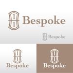 aoomae1588さんのヘアーサロン『Bespoke』のロゴへの提案