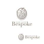 atomgraさんのヘアーサロン『Bespoke』のロゴへの提案
