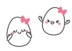 たまごのキャラクターデザイン(卵肌になれる毛穴美容液のゆるキャラ)への提案