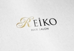 tetuya327さんの美容室「HAIR SALON REIKO」のロゴへの提案