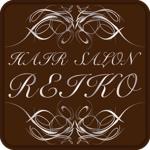 skinさんの美容室「HAIR SALON REIKO」のロゴへの提案