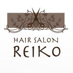 fgfogさんの美容室「HAIR SALON REIKO」のロゴへの提案