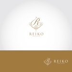 katsu31さんの美容室「HAIR SALON REIKO」のロゴへの提案