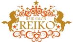 mayu713さんの美容室「HAIR SALON REIKO」のロゴへの提案